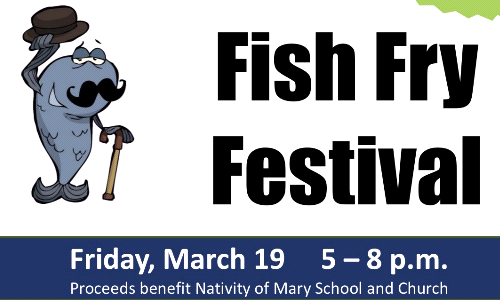 Nativity Men's Club Fish Fry