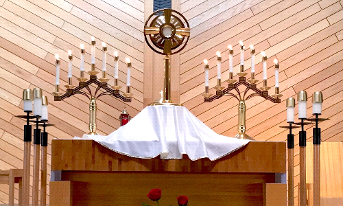 Daily Adoration beginning 3/15