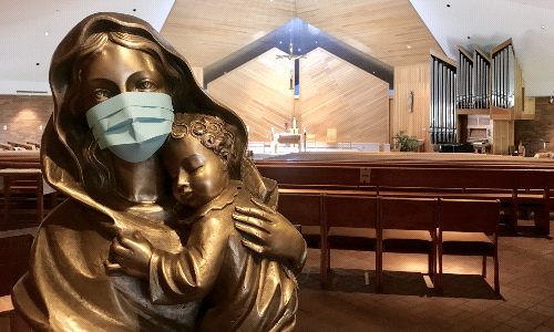 Masks Required at ALL MASSES